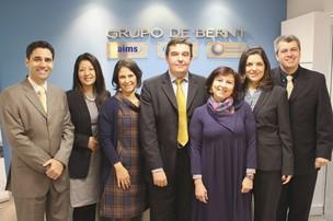 Bernardo Entschev, CEO da De Bernt, e diretores (Foto: Divulgação)
