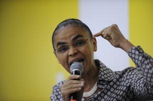 Marina Silva durante a Cúpula dos Povos, evento paralelo à Rio+20 (Foto: Fabio Rodrigues Pozzebom/ABr)