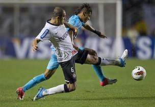 Corinthians x Santos (Foto: EFE / Sebastião Moreira)