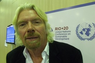Richard Branson (Foto: Clarice Couto)