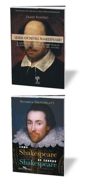 NA DEFESA Os livros de James Shapiro e Stephen Greenblatt  anulam ondas  de especulação  e matam a curiosidade do leitor sobre a vida de Shakespeare    (Foto: divulgação)