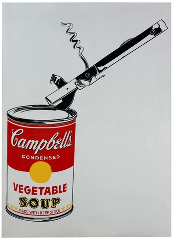 Andy Warhol Campbell (Foto: Agência EFE)