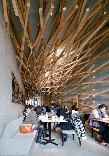 Cafeteria Americana Ganha Design De Templo Japon 234 S 201 Poca