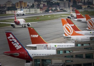 Aeroporto TAM Linhas Aéreas Avião (Foto: Editora Globo)