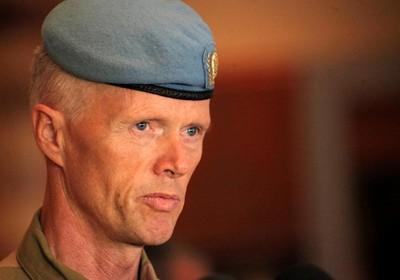 Robert Mood, general norueguêschefe da operação da ONU na Síria (Foto: Agência EFE)