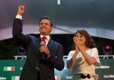 Enrique Peña Nieto é o novo presidente do México (Foto: AP Photo/Alexandre Meneghini)