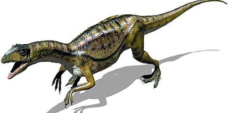 O pampadromeu é um dos mais antigos dinossauros do Brasil. Viveu no Rio Grande do Sul há 228 milhões de anos (Foto: Divulgação)