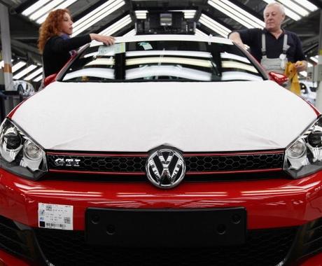 VW Fábrica da Volkswagen (Foto: Getty Images)
