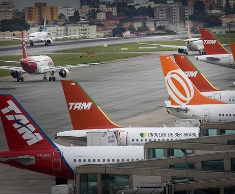 Aeroportos: início de feriado tranquilo (Foto: Editora Globo)