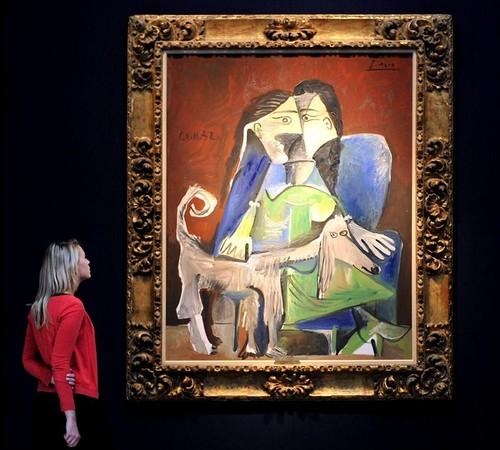 Picasso, quadro (Foto: Agência EFE)