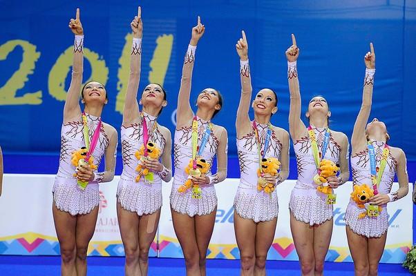 Ginástica rítmica por equipes conquista o segundo ouro brasileiro (Foto: Divulgação / VIPCOMM)