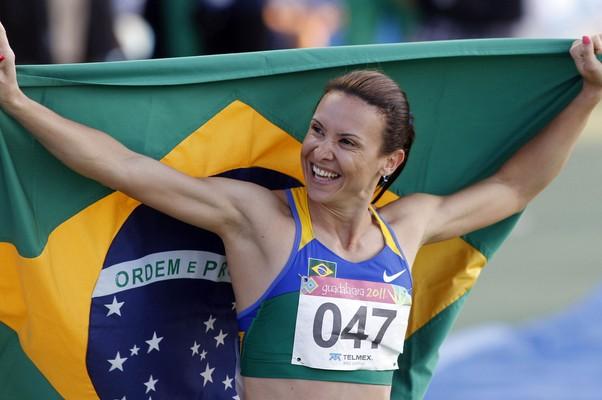Maurren conquistou terceiro ouro em Jogos Pan-americanos (Foto: Jefferson Bernardes / VIPCOMM)