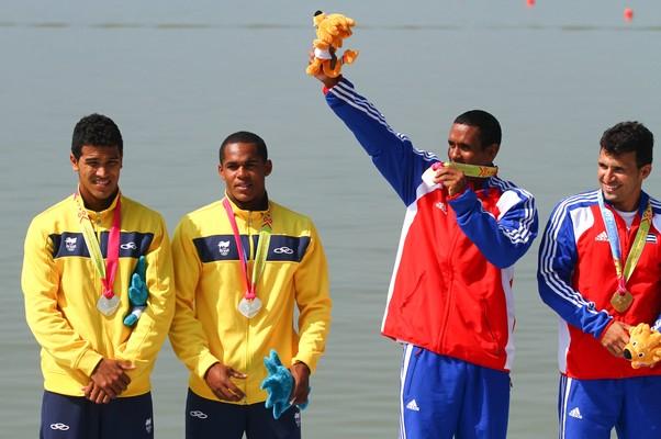 Com essa medalha, Cuba passa o Brasil no quadro de medalhas (Foto: Luiz Pires / VIPCOMM)