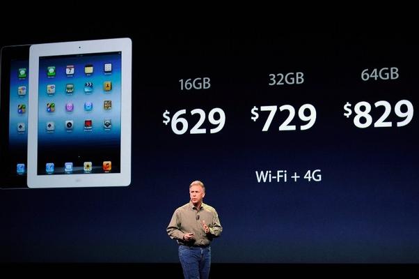 Phil Schiller, VP de Marketing da Apple, apresenta o novo iPad (Foto: AFP Photos)