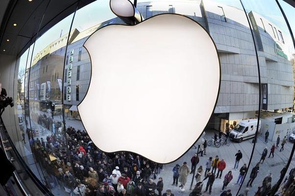 Loja da Apple na Alemanha (Foto: Agência EFE)
