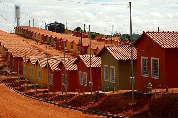 Casas populares: financiamentos de casas de até R$ 170 mil (Foto: Reprodução internet)