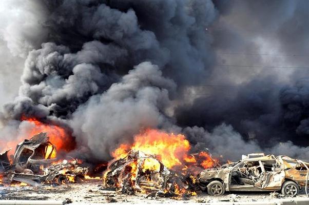 atentado síria (Foto: EPA/Syrian News Agency/EFE)