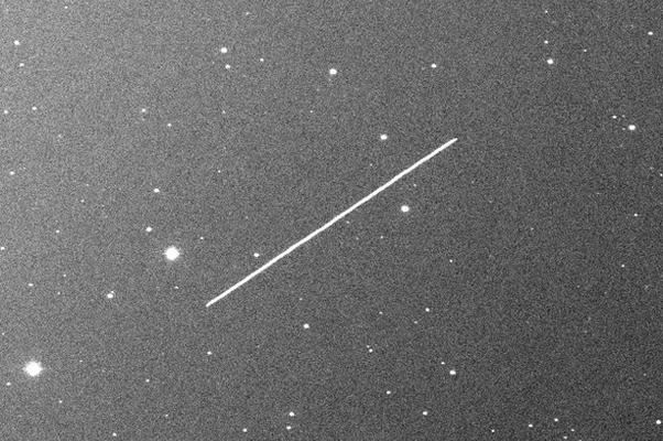 "Asteroide ""2012 KT42"" (Foto: Reprodução/Alex R. Gibbs/Catalina Sky Survey/University of Arizona/NASA/Near-Earth Object Program)"