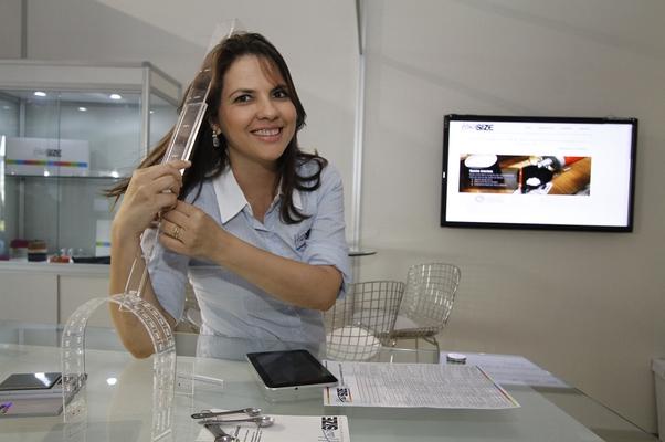Fabiana Gondim, empreendedora que desenvolveu a técnica HairSize (Foto: Thelma Vidales/Sebrae)