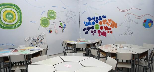 Sala de aula da Escola de Empreendedorismo Zeltzer (Foto: Divulgação)