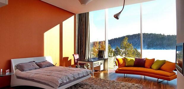 Décor do dia: quarto na Sibéria (Foto: Foto: reprodução)