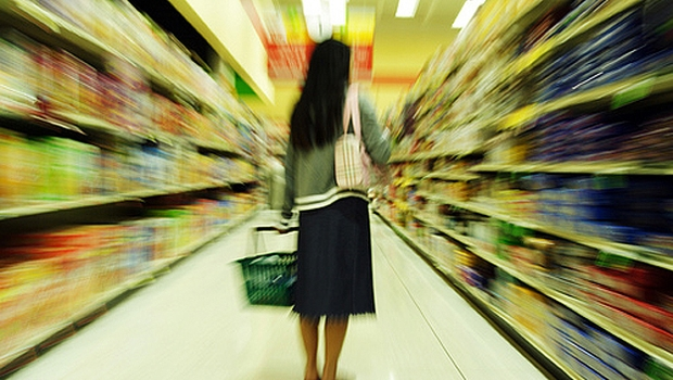 Consumidor compra Consumo Supermercado (Foto: Shutterstock)
