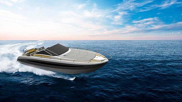 Aguz 37 Open, lançamento do estaleiro Aguz Marine: investimento em design e tecnologia (Foto: Divulgação)
