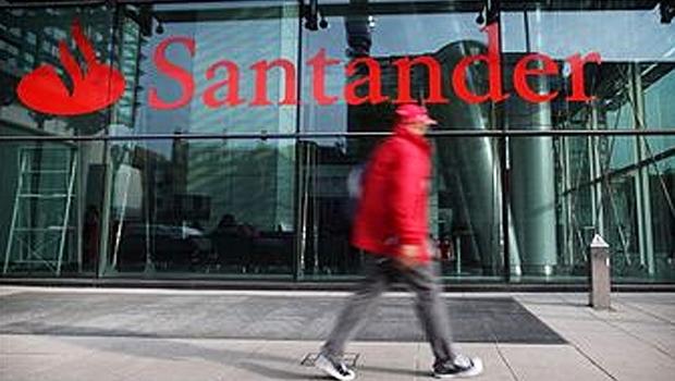 Sede do Banco Santander em Londres (Foto: Getty Images)