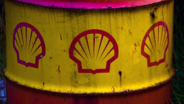 Barril de petróleo da Royal Dutch Shell (Foto: Getty Images)
