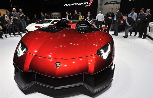 Lamborghini Mentador J Salão de Genebra (Foto: EFE)