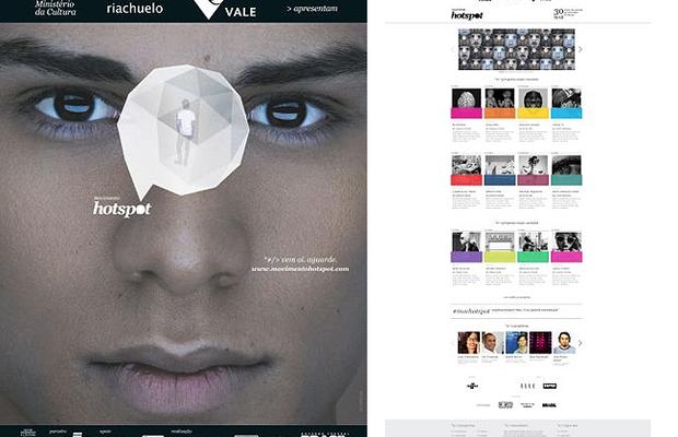 Homepage do portal Movimento Hotspot: inscrições gratuitas para o prêmio que dará até R$ 200 mil para a melhor ideia (Foto: Divulgação)