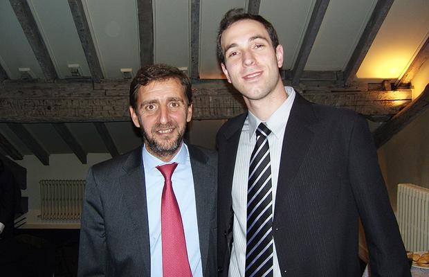 Eduardo Galeskas, ao lado de Felix Suarez, um dos diretores do programa na Fundação Botín (Foto: Acervo Pessoal)
