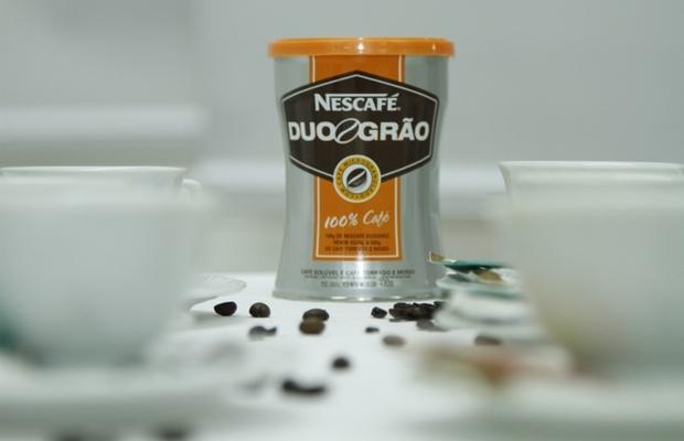 Nescafé DuoGrão, o novo café solúvel da Nestlé que traz o sabor e textura do café torrado (Foto: Divulgação)