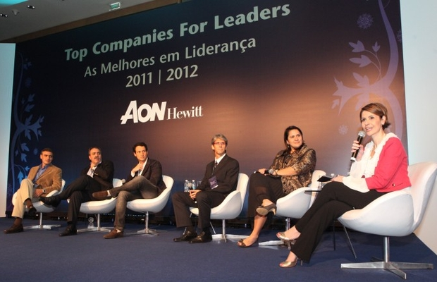 Debate entre as Top Companies for Leaders, realizado pela Aon Hewitt (Foto: Dalton Costa)