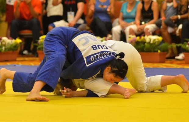 Judô esporte (Foto: Agência EFE)