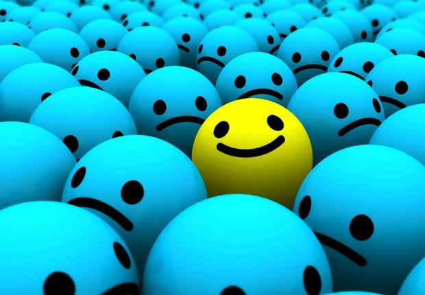 Otimismo Felicidade Sucesso Carreira Sorriso Inovação Diferença (Foto: Shutterstock)