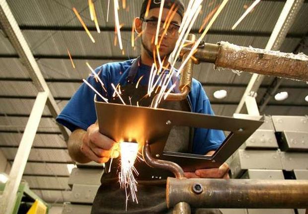 Brasil Produção industrial Indústria do Brasil PIB do Brasil (Foto: Agência Estado)