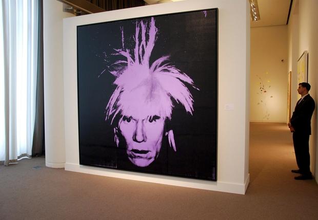Andy Warhol autorretrato (Foto: Agência EFE)