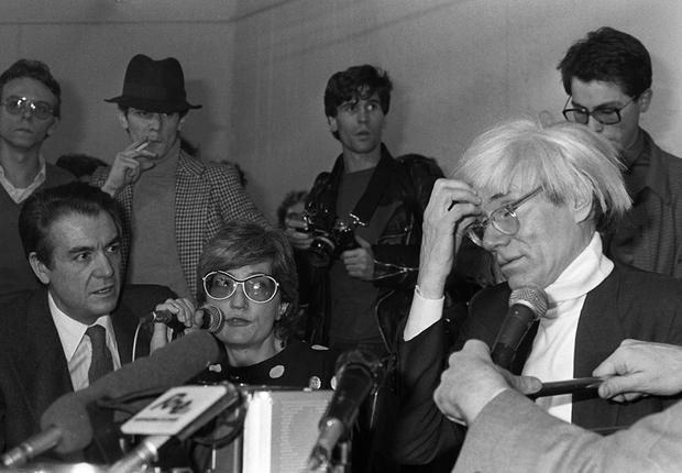 Andy Warhol 1983 (Foto: Agência EFE)