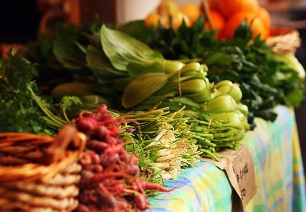 Cesta básica Alimentos Comida Vegetais Feira (Foto: Getty Images)