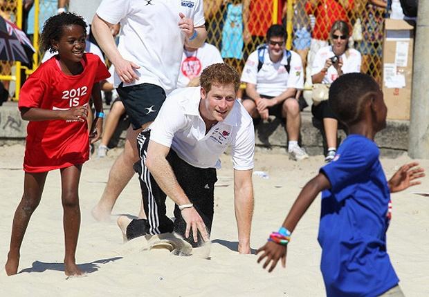 Príncipe Harry no Brasil (Foto: Getty Images)