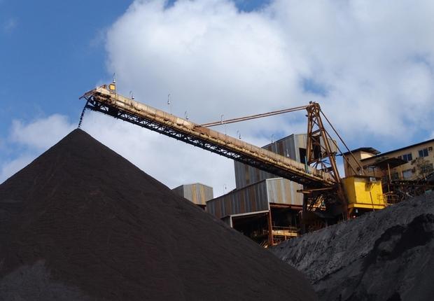 Operação da Vale na mina Gongo Soco, em Barão de Cocais MG (Foto: Vale)