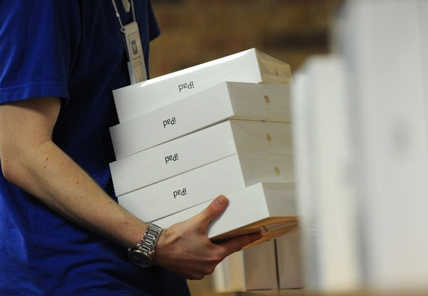 Lan&#231;amento do novo iPad nos EUA (Foto: AFP Photos)