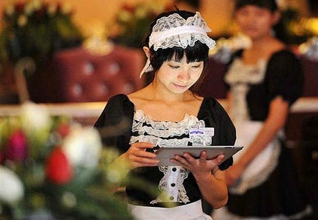 Na cidade de Kunming, o restaurante cosplay ficou conhecido graças a comentários na internet (Foto: Reprodução internet)