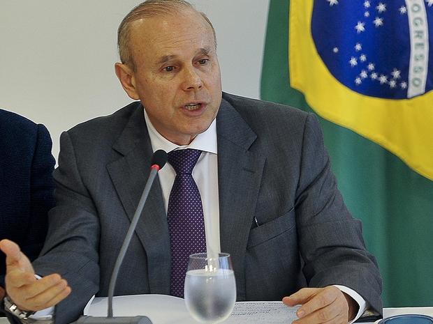 O ministro da Fazenda Guido Mantega (Foto: Antonio Cruz/ABr)