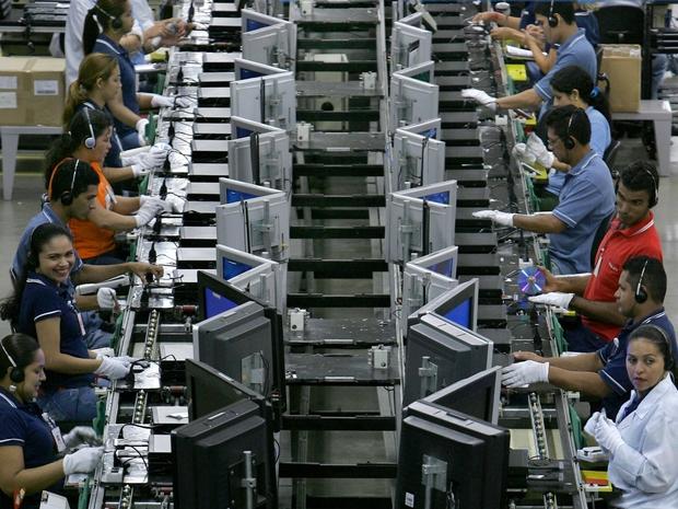 Brasil Produção industrial Indústria do Brasil PIB do Brasil  (Foto: Getty Images)