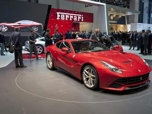 Ferrari F12 Berlinetta Salão de Genebra 2012 (Foto: EFE)