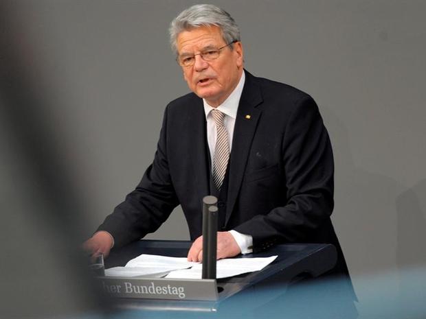 Joachim Gauck presidente da Alemanha (Foto: Agência EFE)