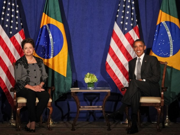 Dilma e Obama (Foto: Roberto Stuckert Filho/Presidncia da Repblica)