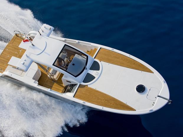 Xsea 42, do estaleiro X-Sea Yachts, de Mônaco: estreia na Rio Boat Show 2012 (Foto: Divulgação)